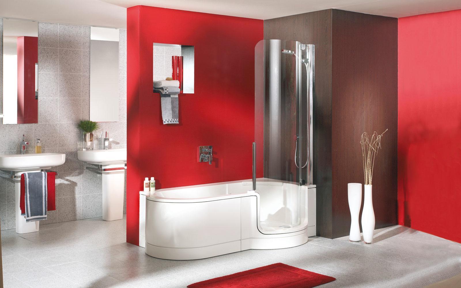 Duschbadewanne Mit Einstieg Seitz Braun Bad Heizung Kundendienst